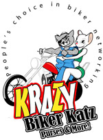Krazy Biker Katz Purses & More!